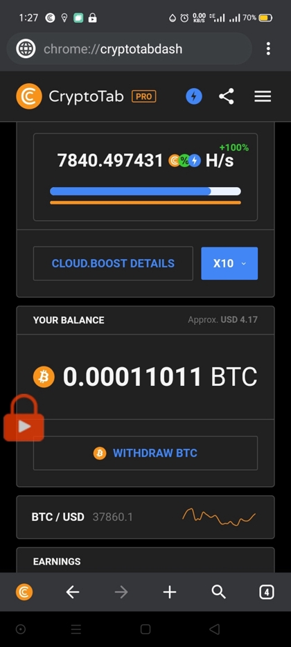 Thumbnail of Earn free Bitcoin
