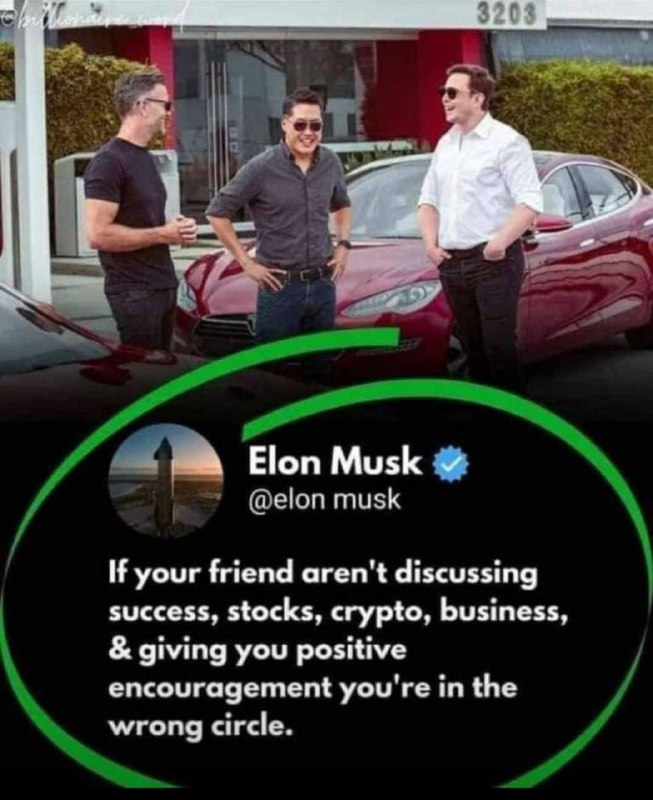 Thumbnail of Elon musk is a man who understands the feelings of his people