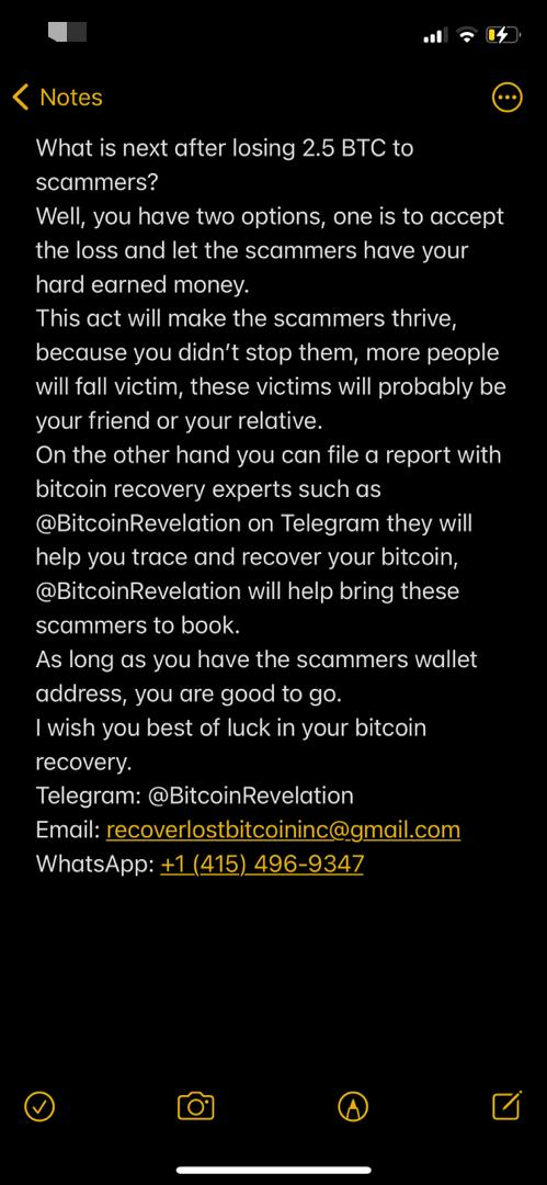 Thumbnail of Recover Lost Bitcoin