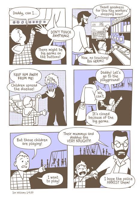 Thumbnail of Covid 19 Comic