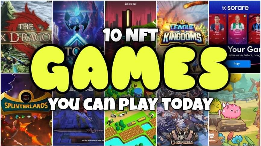 Thumbnail of Best 10 NFT GAMES YOU CAN Play to Earn Cryptocurrency