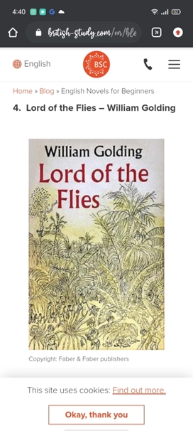 Thumbnail of Lord Of Flies