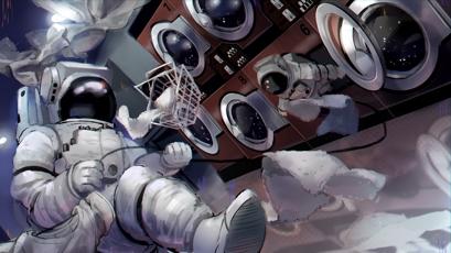 Thumbnail of Space Laundromat