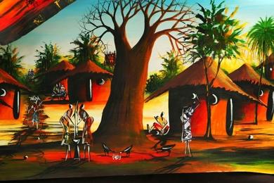Thumbnail of Village in ghana