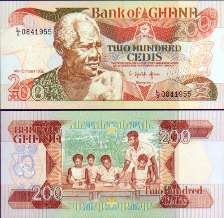 Thumbnail of The ghana currency